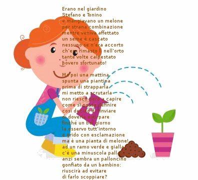 Poesie per bambini : Magia nel giardino