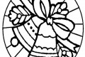 Mandala di Natale : le campane