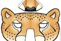 Maschera di carnevale da stampare gratuitamente : il puma