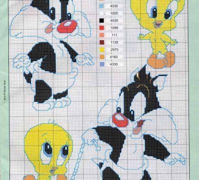 Schemi a punto croce : Looney Tunes