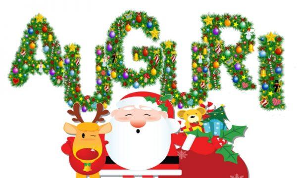 "Natale : Scritta ""AUGURI"" da stampare"