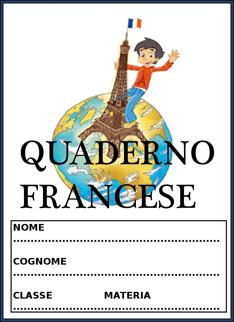 Copertine per quaderni di francese - Immagini in francese per bambini ...