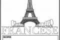 Copertine da colorare per quaderni di Francese
