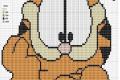 Punto croce: Garfield