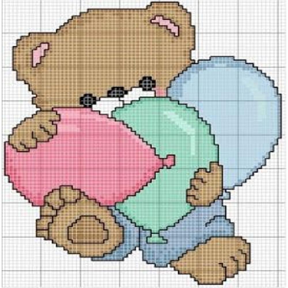 Favoloso Punto croce: raccolta orsetti da ricamare | MAMMA E CASALINGA GA77