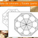 Mandala da colorare: L'Estate
