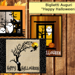 5 Biglietti Auguri Happy Halloween
