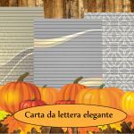 Carta da lettera Elegante