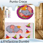 Punto Croce: schemi Elefantino Dumbo