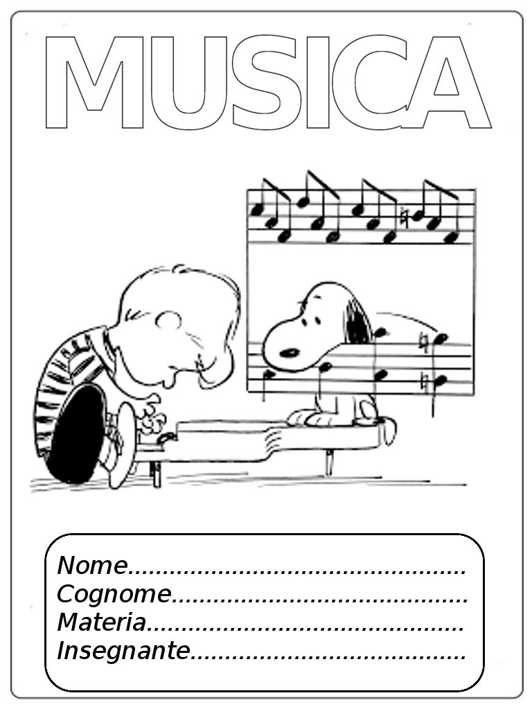 Copertine Per Quaderni Di Musica Mamma E Casalinga