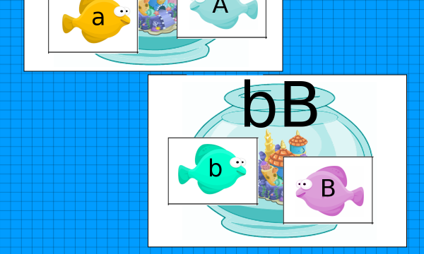 L'acquario dei pesci alfabeto