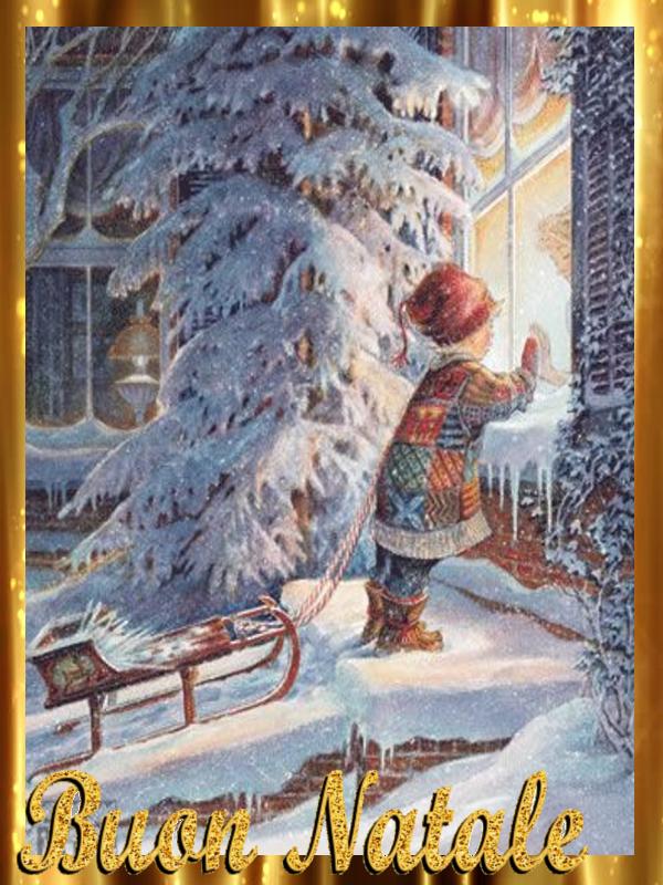 Immagini Natale Vintage.5 Cartoline Vintage Buon Natale Mamma E Casalinga