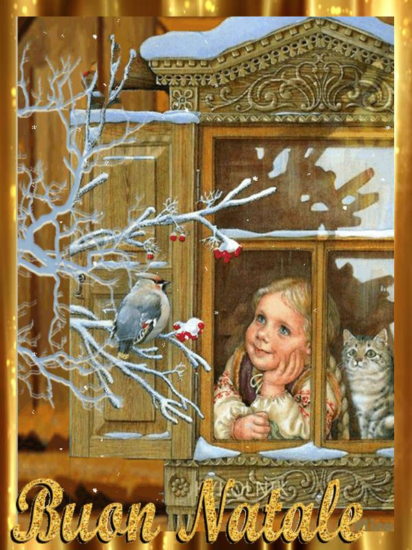 Immagini Cartoline Natale Vintage.5 Cartoline Vintage Buon Natale
