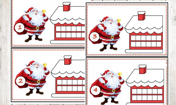 Da 1 a 12 tutti i regali di Babbo Natale