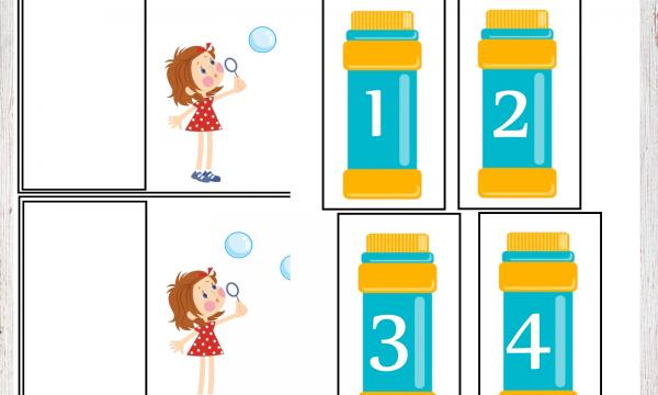 I numeri e le bolle di sapone