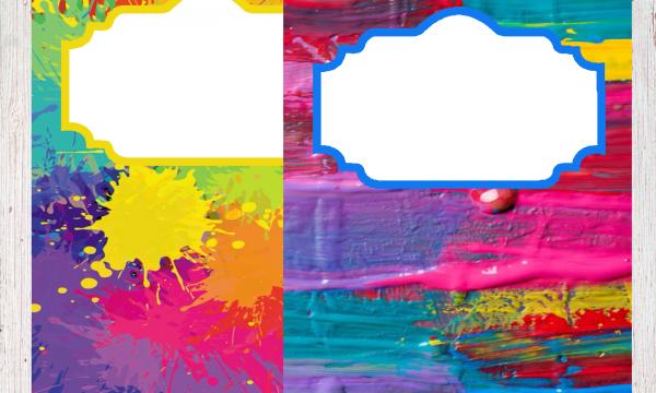 Copertine per quaderni Macchie di colore
