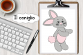 Cartoncino: Costruiamo un coniglio