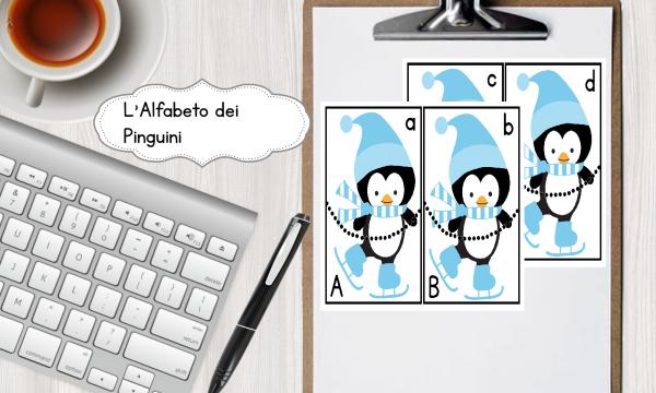 L'Alfabeto dei pinguini