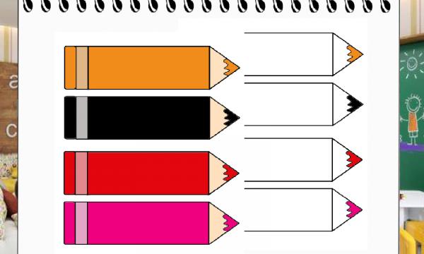 Le matite e i colori