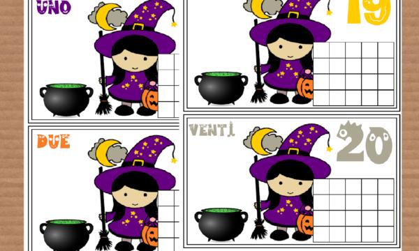 Impariamo a contare con Halloween